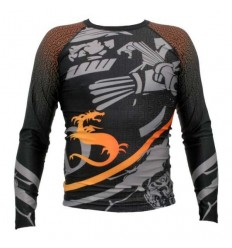 Dragon Sports rashguard Cage Fighter