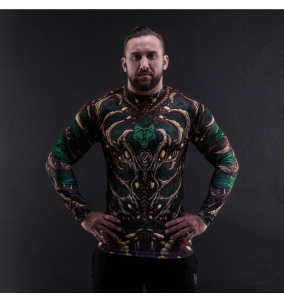 RED IS BAD rashguard BIO-7ZG krótki rękaw