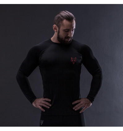 RED IS BAD rashguard IMMORTAL V.2 krótki rękaw