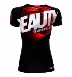 Poundout rashguard damski BEAUTY SUB-SKIN tech.