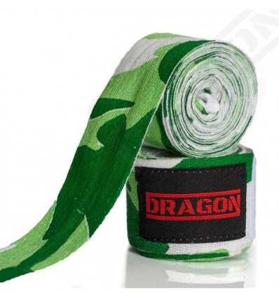 Dragon Sports bandaże bokserskie Camo 4 m