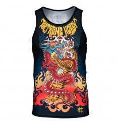 Extreme Hobby tank top rashguard Dragon vs Tiger