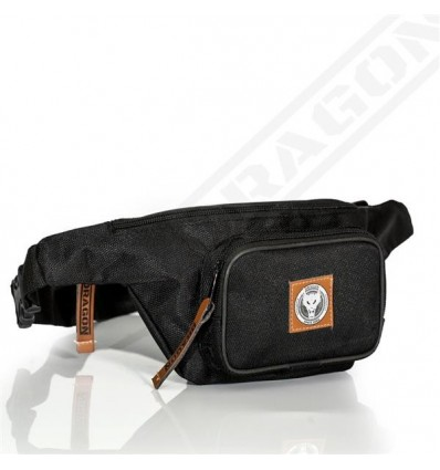 Dragon Sports saszetka, nerka Waist Bag Dragon czarna