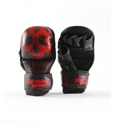 Ground Game rękawice sparingowe MMA PRO Red Skull