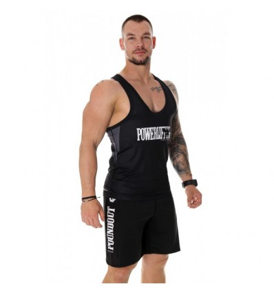 Poundout tank top POWERLIFTING DRY EXPERT
