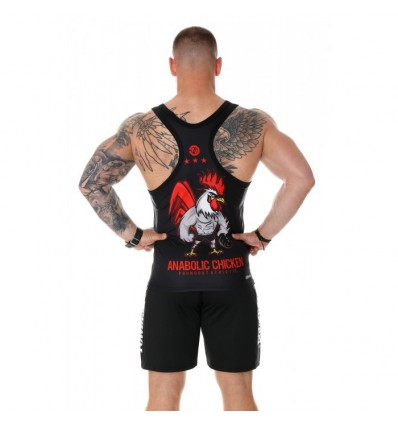 Poundout tank top ANABOLIC CHICKEN DRY EXPERT