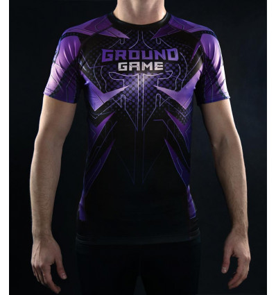 Ground Game rashguard Indian Skull