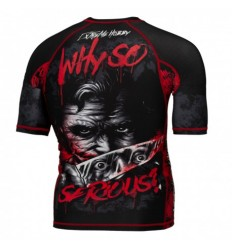 Extreme Hobby rashguard Why So Serious krótki rękaw